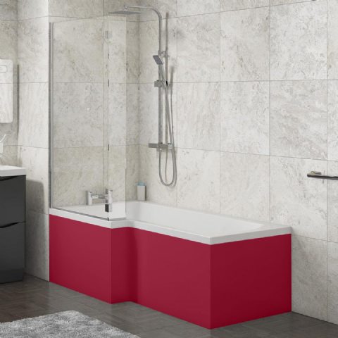 L Shape Shower Bath Panels ( All Finishes and Styles )